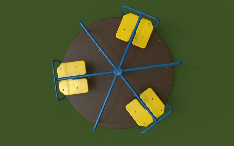 playground carousel 3d model 3ds max fbx dae  obj 308042
