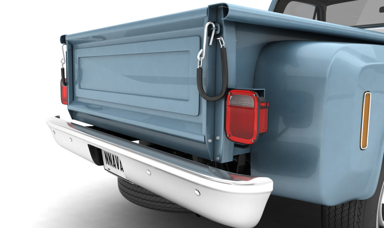 generic step side pickup truck 10 3d model 3ds max fbx obj 308194