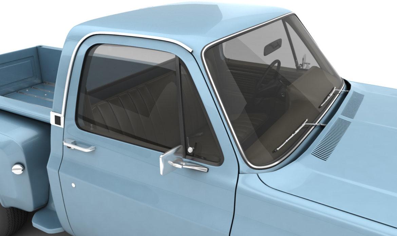 ерөнхий алхам хажуугийн пикап ачааны машин 10 3d загвар 3ds хамгийн их fbx obj 308195