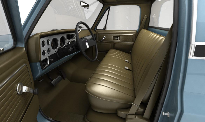 ерөнхий алхам хажуугийн пикап ачааны машин 10 3d загвар 3ds хамгийн их fbx obj 308199