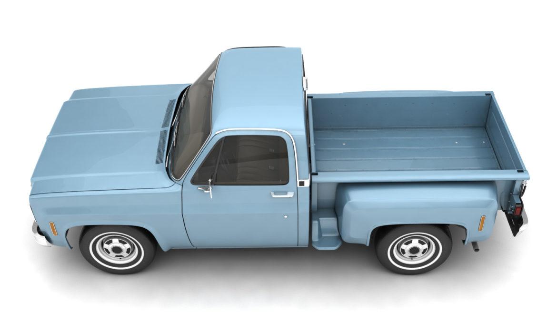 ерөнхий алхам хажуугийн пикап ачааны машин 10 3d загвар 3ds хамгийн их fbx obj 308200