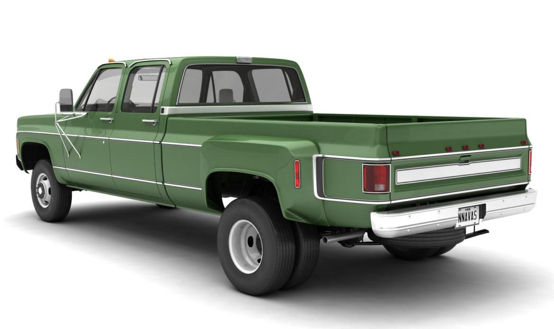 generic 4wd dually pickup truck 9 3d model 3ds max fbx obj 308204