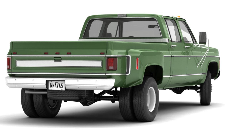 generic 4wd dually pickup truck 9 3d model 3ds max fbx obj 308206