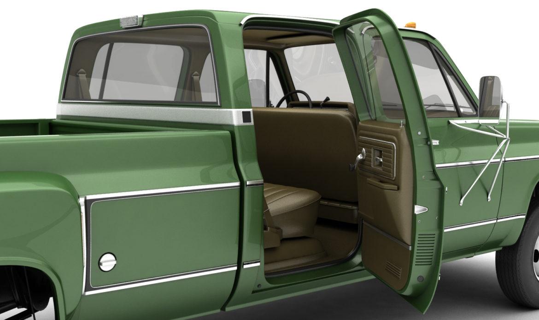 generic 4wd dually pickup truck 9 3d model 3ds max fbx obj 308209