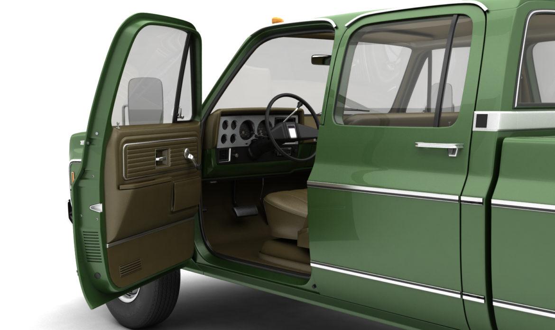 generic 4wd dually pickup truck 9 3d model 3ds max fbx obj 308210