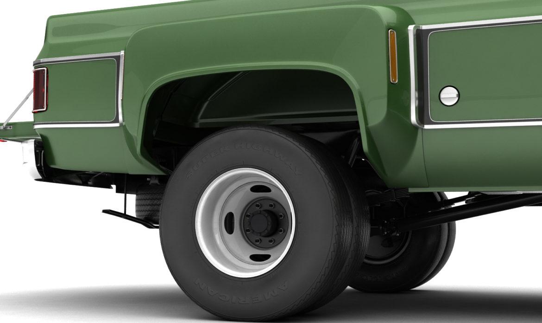 generic 4wd dually pickup truck 9 3d model 3ds max fbx obj 308215