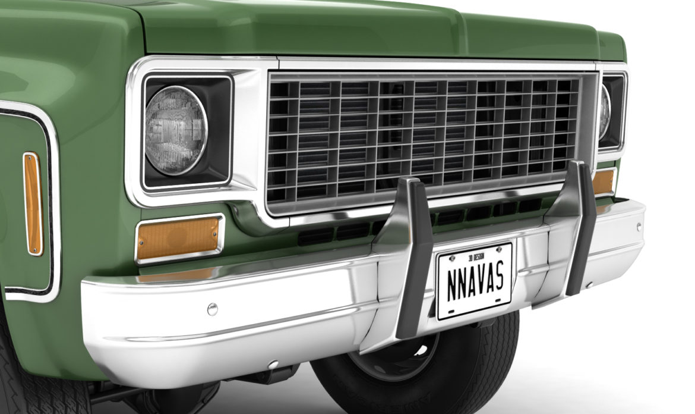 generic 4wd dually pickup truck 9 3d model 3ds max fbx obj 308216