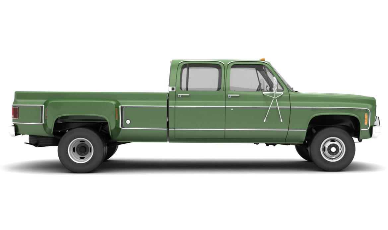 generic 4wd dually pickup truck 9 3d model 3ds max fbx obj 308218