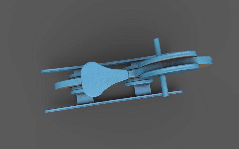 koka ziloņu šūpuļzirgs 3d modelis 3ds max fbx dae obj 308385