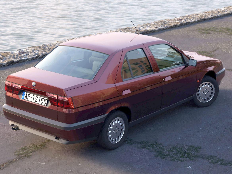 alfa romeo 155 1993 3d modelis 3ds max fbx c4d dae obj 309111