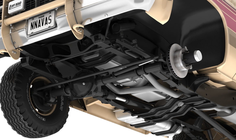 generic 4wd stepside pickup truck 11 3d model 3ds max fbx obj 309301