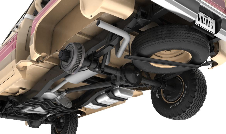 generic 4wd stepside pickup truck 11 3d model 3ds max fbx obj 309302