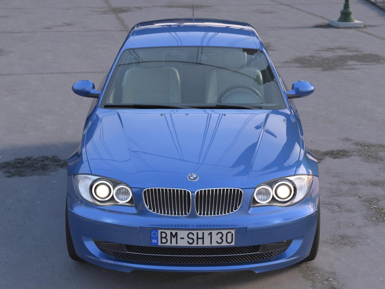 e81 1-series hatchback 3d model 3ds max fbx c4d dae obj 309552