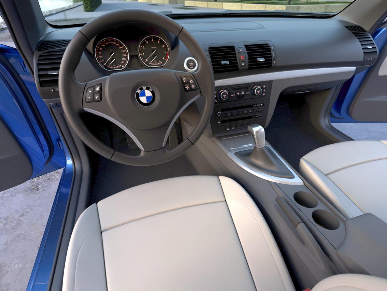 e81 1-series hatchback 3d model 3ds max fbx c4d dae obj 309558