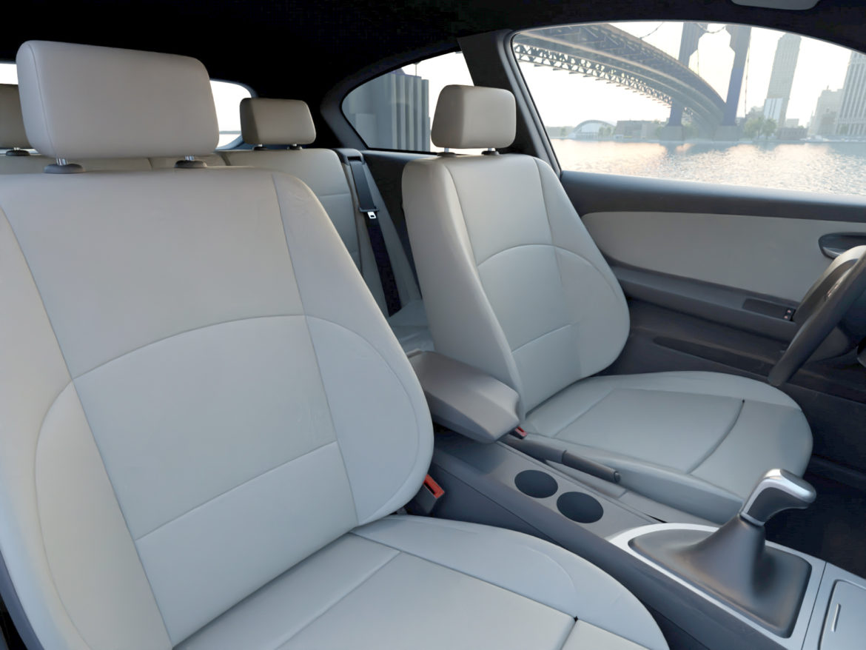 e81 1-series hatchback 3d model 3ds max fbx c4d dae obj 309560