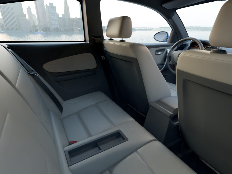 e81 1-series hatchback 3d model 3ds max fbx c4d dae obj 309561