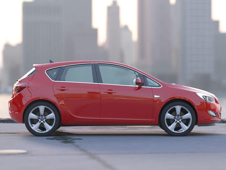 astra hatchback 2010 3d model 3ds max fbx c4d dae obj 309667