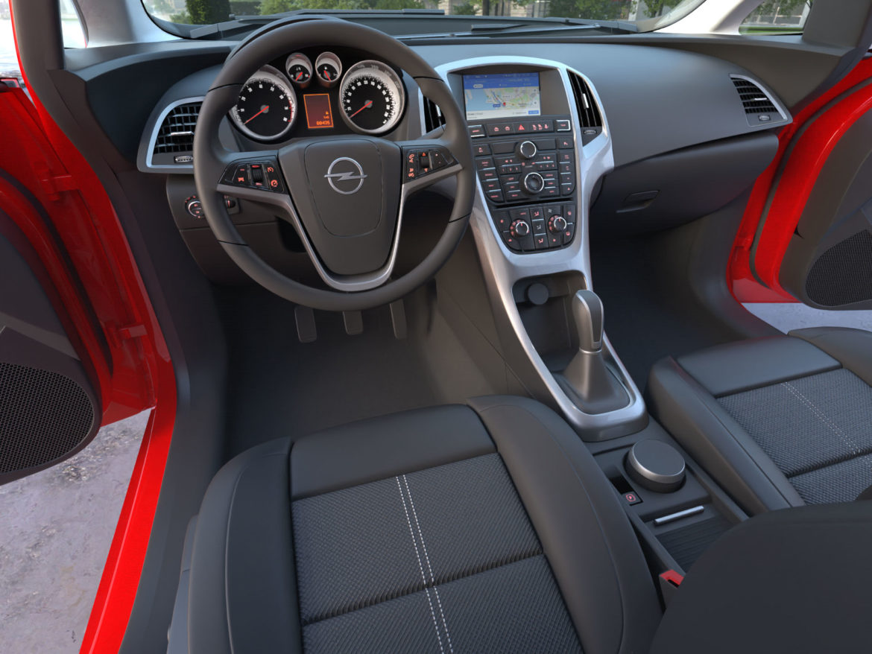 astra hatchback 2010 3d model 3ds max fbx c4d dae obj 309672
