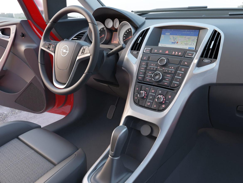 astra hatchback 2010 3d model 3ds max fbx c4d dae obj 309673
