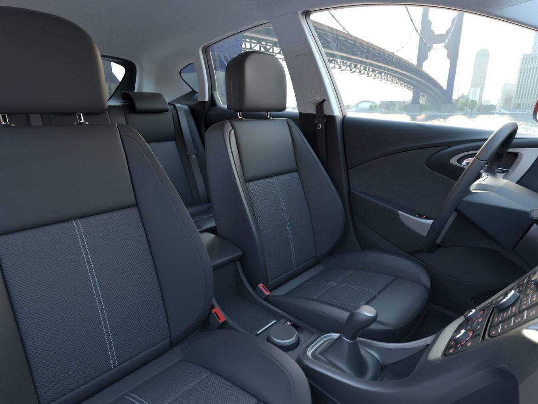 astra hatchback 2010 3d model 3ds max fbx c4d dae obj 309674