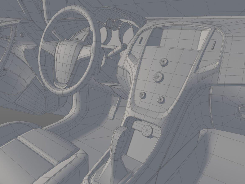 astra hatchback 2010 3d model 3ds max fbx c4d dae obj 309679