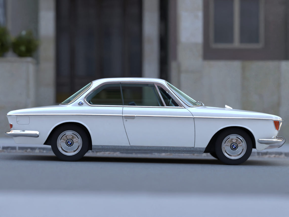 e9 2000cs coupe 1967 3d model 3ds max fbx c4d dae obj 309916