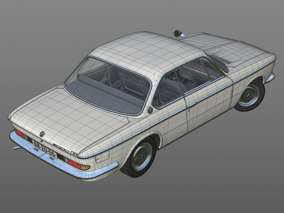 e9 2000cs coupe 1967 3d model 3ds max fbx c4d dae obj 309926