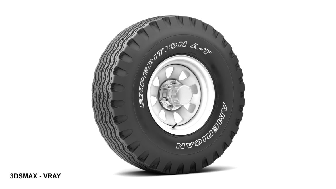 off road wheel and tire 12 3d model 3ds max fbx blend obj 310101