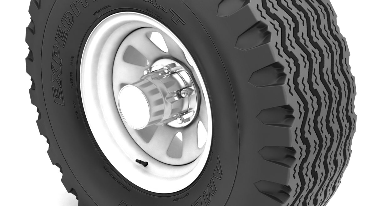 off road wheel and tire 12 3d model 3ds max fbx blend obj 310104