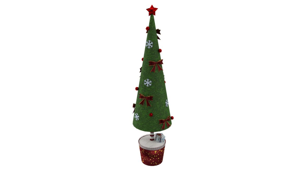toy christmas tree 3d model 3ds max fbx obj 310418