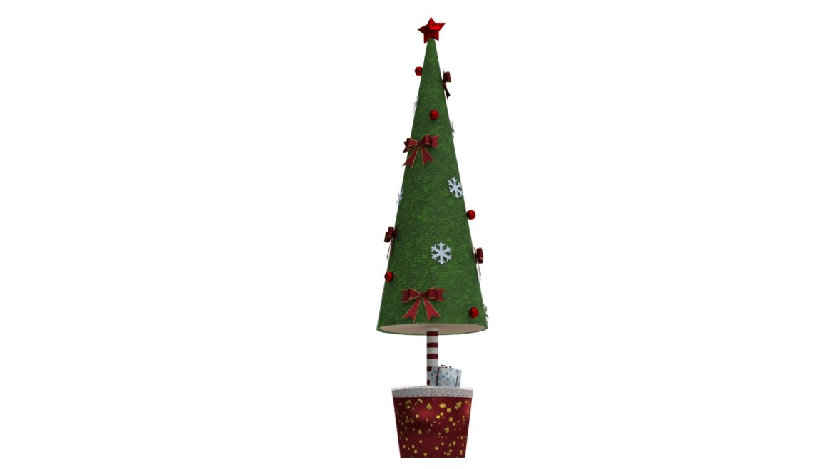 toy christmas tree 3d model 3ds max fbx obj 310419