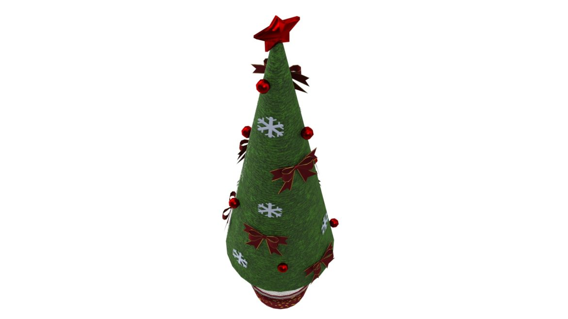 toy christmas tree 3d model 3ds max fbx obj 310420