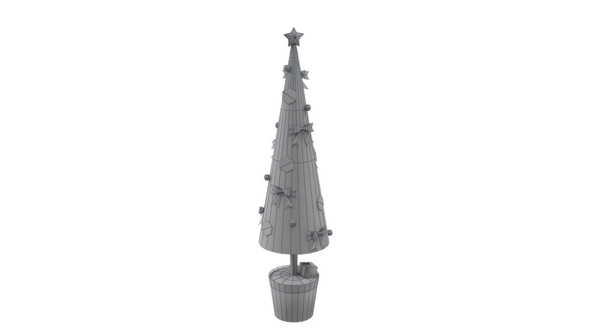 toy christmas tree 3d model 3ds max fbx obj 310422