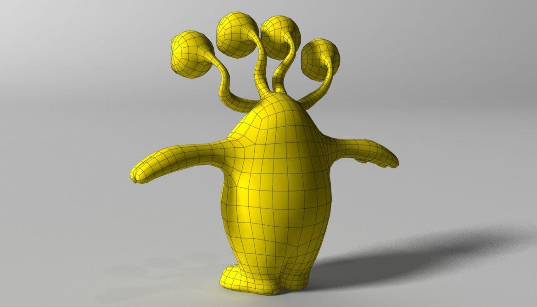хүүхэлдэйн киноны шар өнгөтэй 3d загвар 3ds max fbx obj 310798