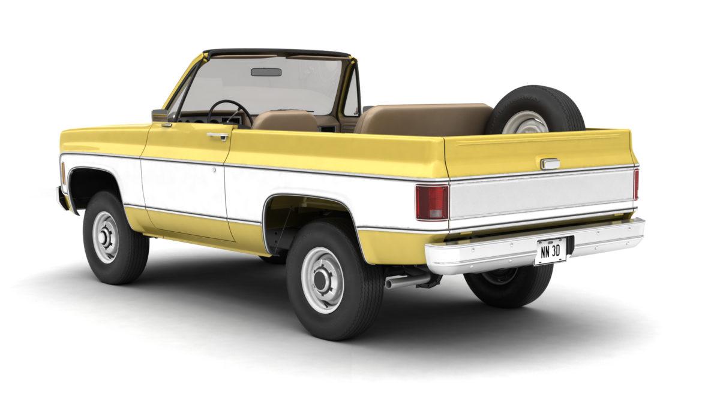 generic convertible suv 12 3d model 3ds max fbx blend obj 310893