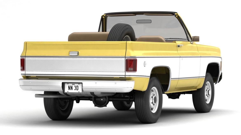 generic convertible suv 12 3d model 3ds max fbx blend obj 310895