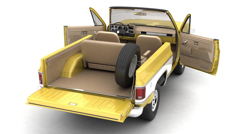 generic convertible suv 12 3d model 3ds max fbx blend obj 310896
