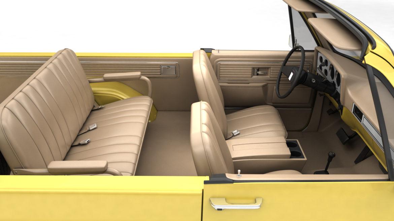 generic convertible suv 12 3d model 3ds max fbx blend obj 310897