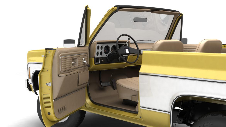 generic convertible suv 12 3d model 3ds max fbx blend obj 310898