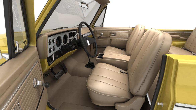 generic convertible suv 12 3d model 3ds max fbx blend obj 310899