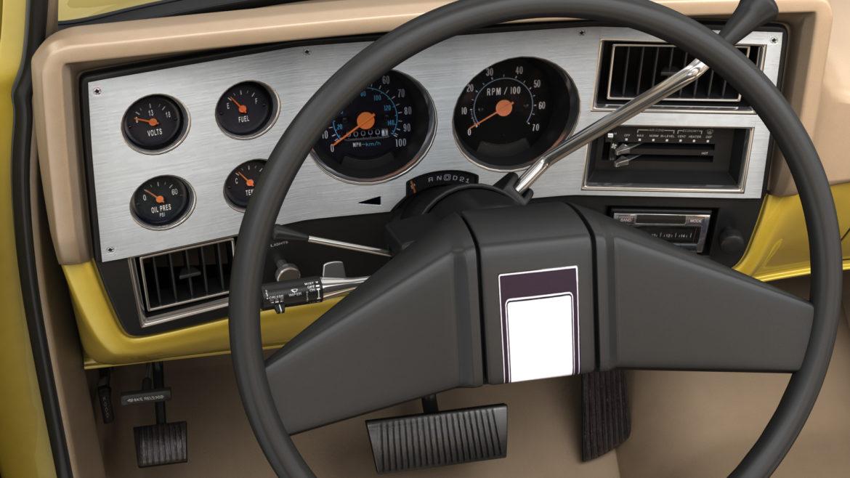 generic convertible suv 12 3d model 3ds max fbx blend obj 310900