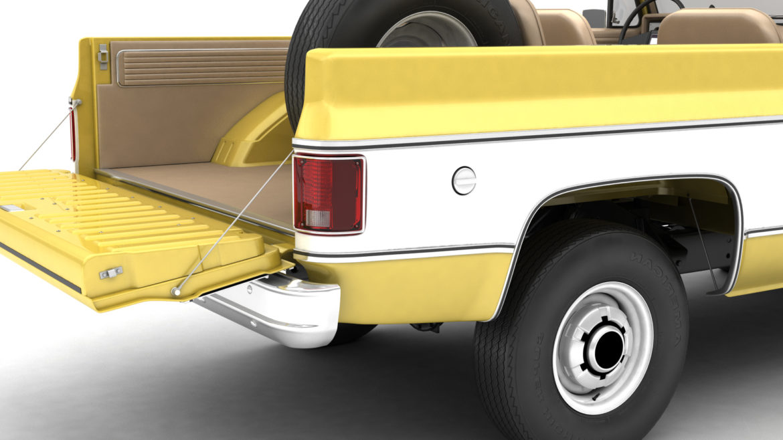 generic convertible suv 12 3d model 3ds max fbx blend obj 310907