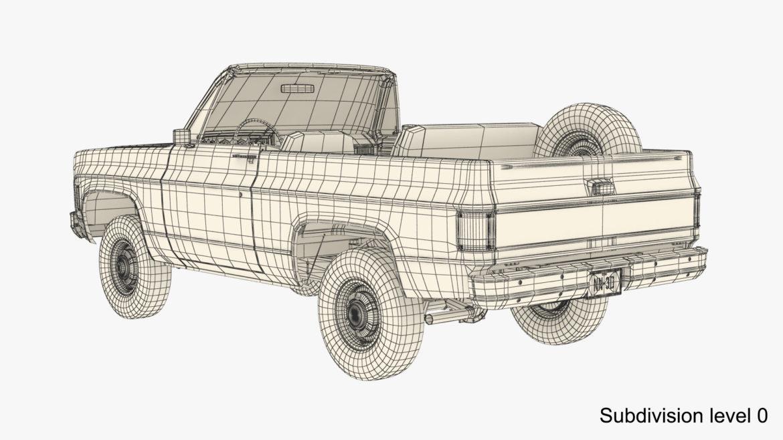 generic convertible suv 12 3d model 3ds max fbx blend obj 310909