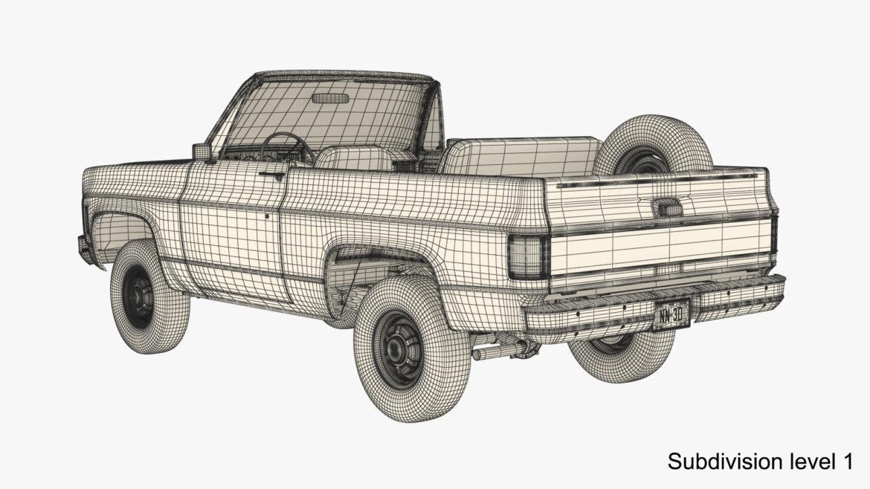 generic convertible suv 12 3d model 3ds max fbx blend obj 310911
