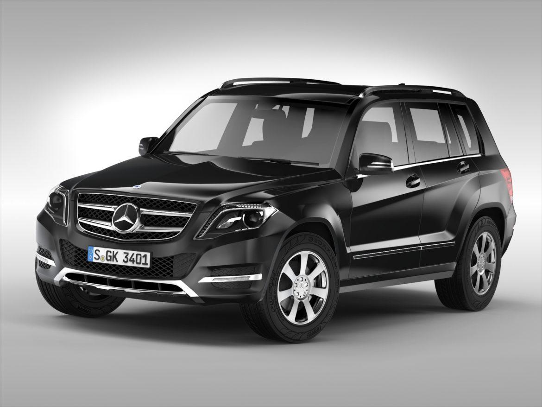 Mercedes Benz glk class (2012 - 2015) 3d líkan 3ds max fbx blanda c4d ma mb skp obj 311830