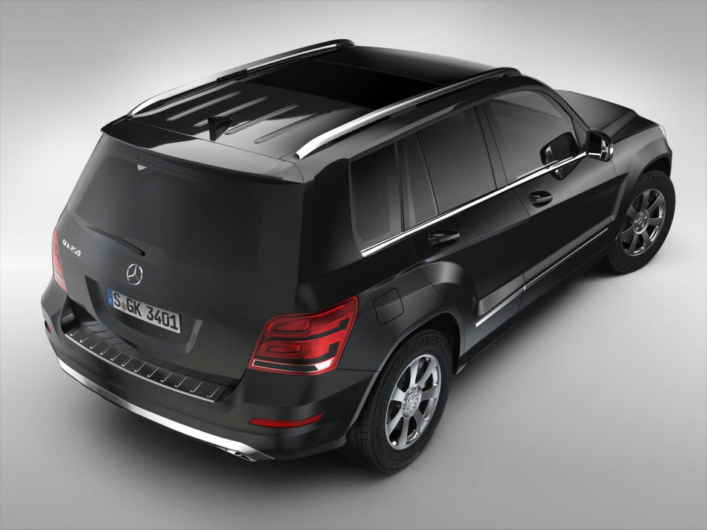 Mercedes Benz glk class (2012 - 2015) 3d líkan 3ds max fbx blanda c4d ma mb skp obj 311832