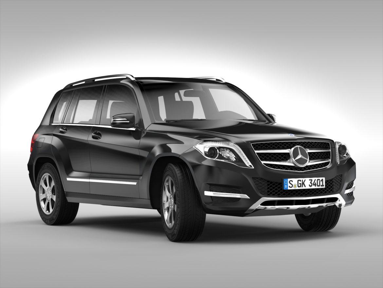 Mercedes Benz glk class (2012 - 2015) 3d líkan 3ds max fbx blanda c4d ma mb skp obj 311833