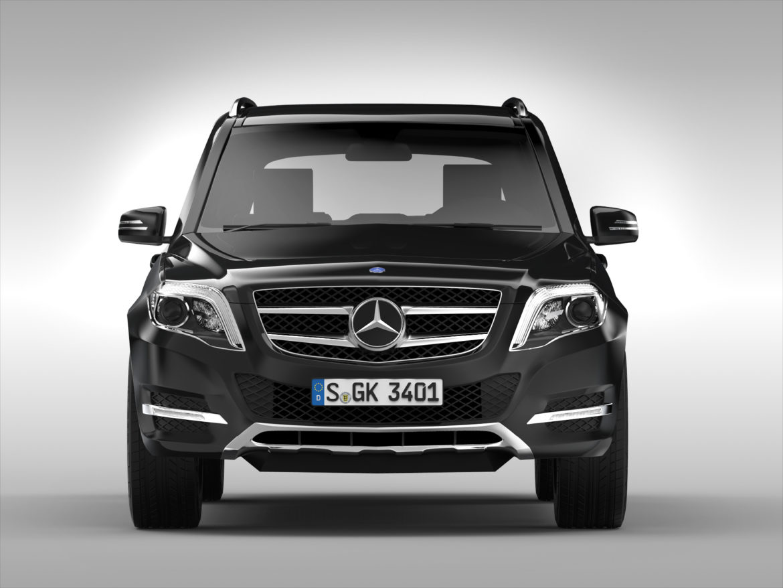 Mercedes Benz glk class (2012 - 2015) 3d líkan 3ds max fbx blanda c4d ma mb skp obj 311834