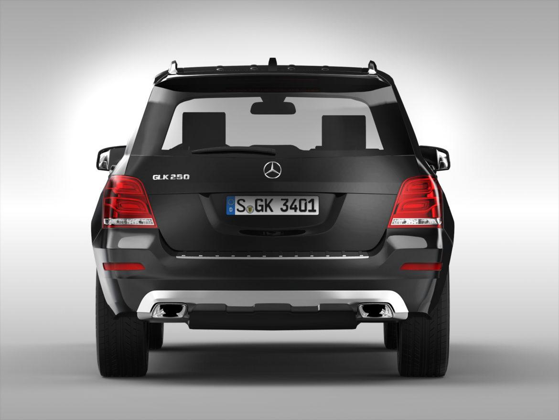 Mercedes Benz glk class (2012 - 2015) 3d líkan 3ds max fbx blanda c4d ma mb skp obj 311835
