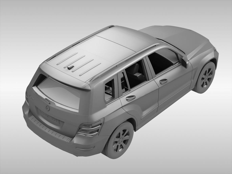 Mercedes Benz glk class (2012 - 2015) 3d líkan 3ds max fbx blanda c4d ma mb skp obj 311838